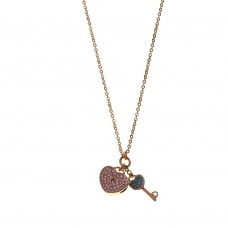 Necklace W/ Padlock