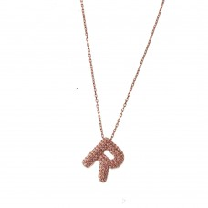 """Necklace With Letter """"R"""""""