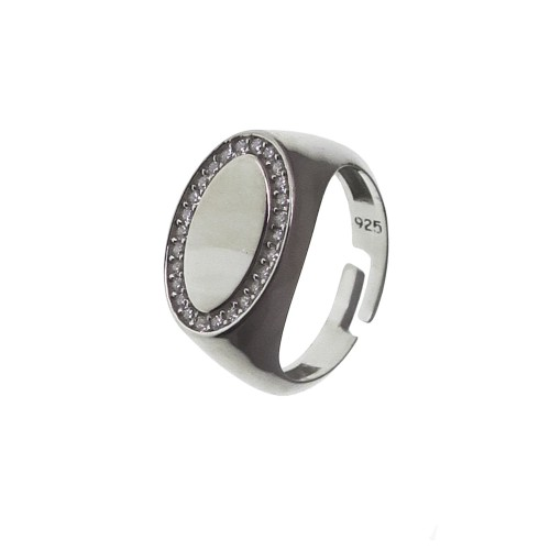 Adjustable Ring Oval