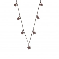 Necklace With Stars Charm