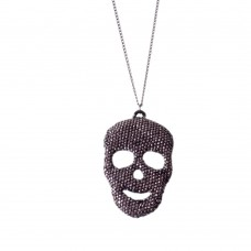 Necklace With Big Skull