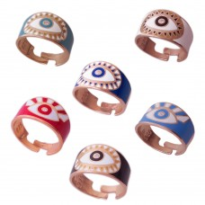 Ring With Evil Eye