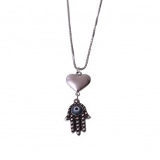 Necklace With Hamsa