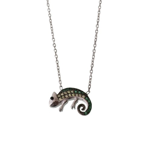 Necklace With Chameleon
