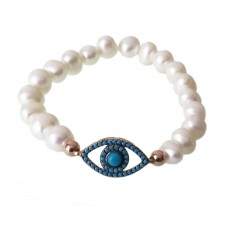 Pearl Bracelet With Eye