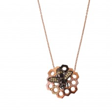 Necklace With Honeycomb