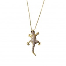 Necklace With Lizard