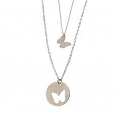 Necklace With Butterfly