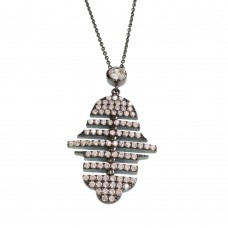 Silver Necklace With Hamsa (Hand Of Fatima)
